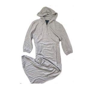Lauren Ralph Lauren Hooded Sweatshirt Dress